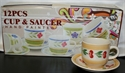 Picture of 12pce Hand Painted Cups & Saucers