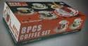 Picture of 8pce X3 Cups & Saucers