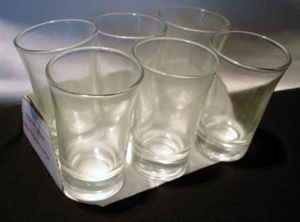 Picture of Shot Glass Incolour 6pce