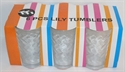 Picture of Tumbler Clear Lily Diamond 6pce