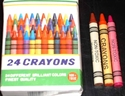 Picture of Wax Crayons 24&#39;s 8mm  