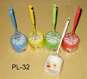 Picture of Plastic Toilet Brush &amp; Holder Set