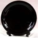 Picture of Plate Dinner Black 10.5""